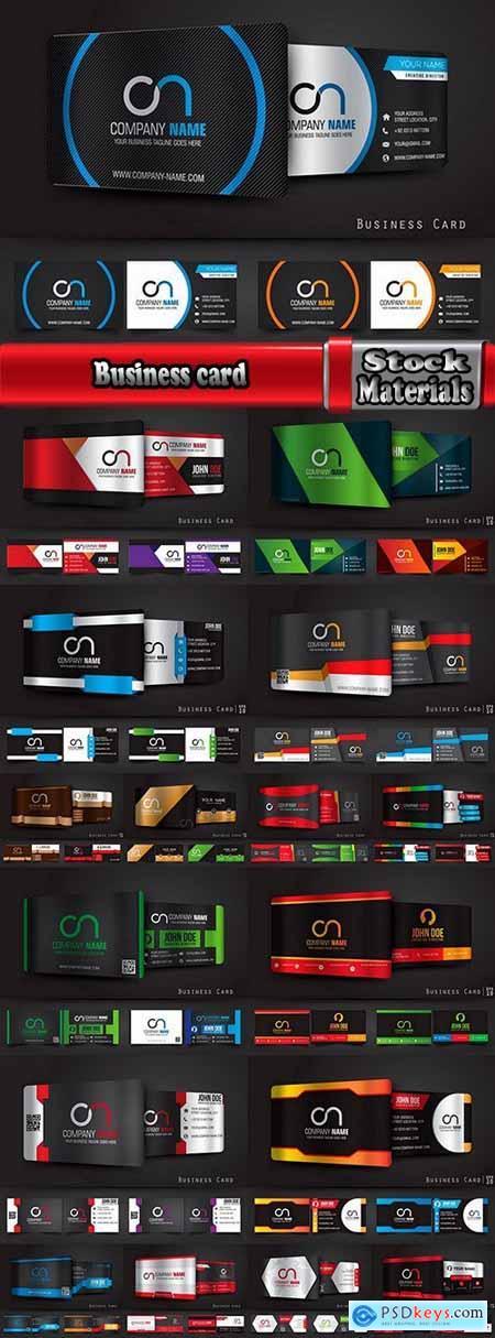 Business Card Logo Backgrade Background Invitation Card