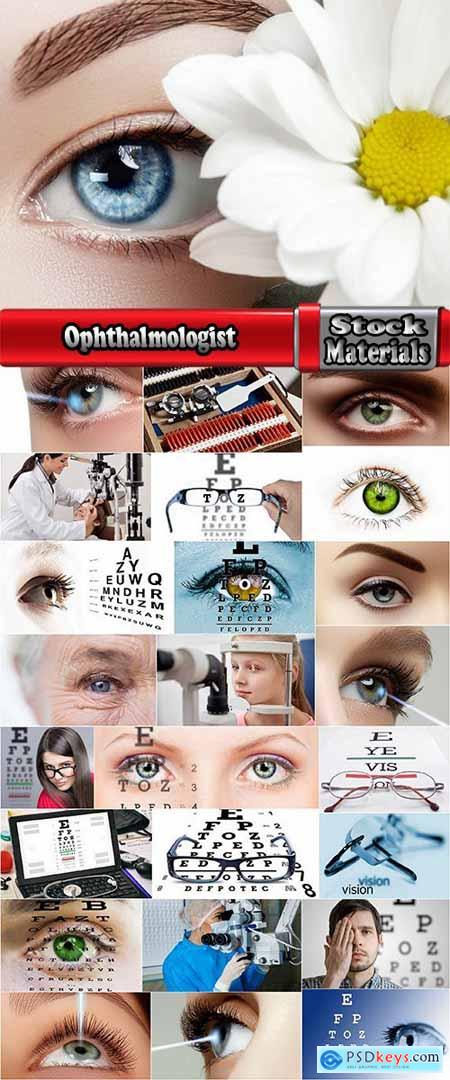 Ophthalmologist eyesight glasses vision correction treatment 25 HQ Jpeg