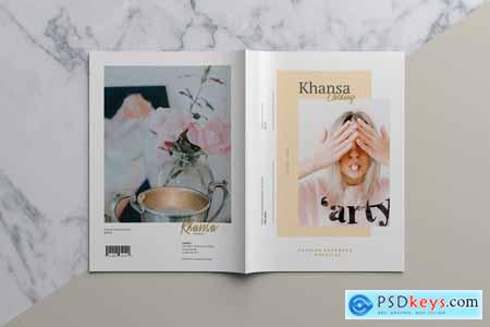 Creativemarket KHANSA - Fashion Lookbook & Magazine