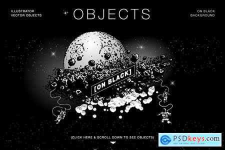 Creativemarket Cosmic Vector Bundle