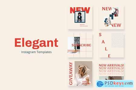 Creativemarket Elegant Instagram