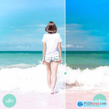 Creativemarket Hey Bali Mobile Lightroom Preset