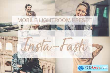 Insta-Fash Mobile Lightroom Preset