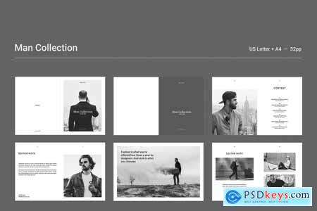 Creativemarket Man Collection