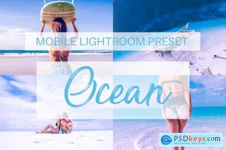 Ocean Mobile Lightroom Preset