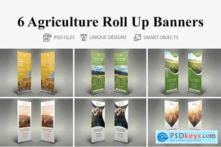 Creativemarket Roll Up Banners - 026