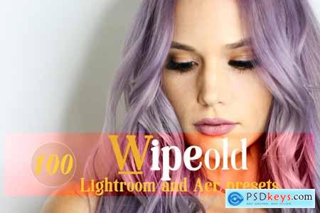 Creativemarket Wipeold Lightroom and ACR Presets