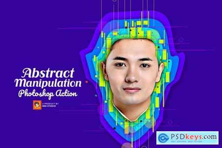 Creativemarket Abstract Manipulation PS Action