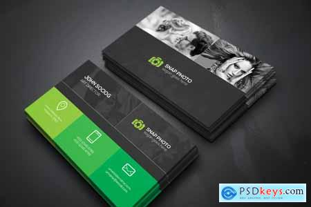 Creativemarket Photography Business Cards