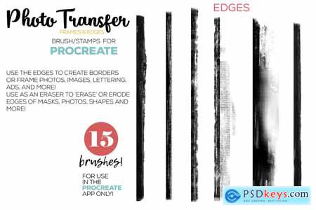 Creativemarket Procreate Photo Transfer Brushes