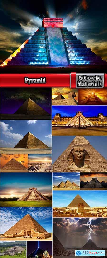 Pyramid Egyptian Sphinx modern pyramid 17 HQ Jpeg
