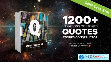 Videohive Stories Constructor - Quotes Free