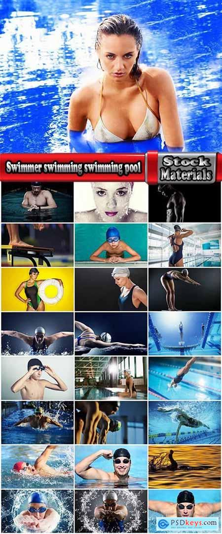 Swimmer swimming swimming pool Sports Glasses for swimming 25 HQ Jpeg