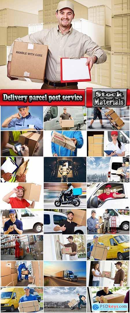 Delivery parcel post service transport transportation cargo transportation 25 HQ Jpeg