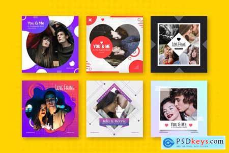 Creativemarket Creative Frame Templates - Instagram
