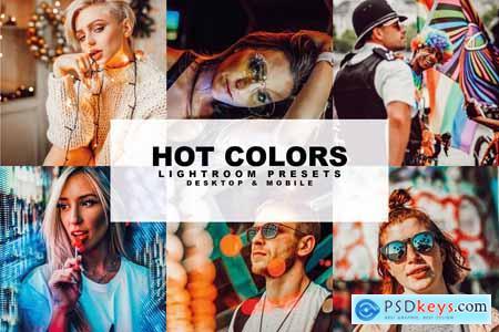 Creativemarket Hot Colors Presets