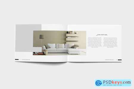 Creativemarket Interior Design Brochure