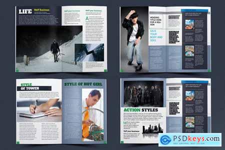 Creativemarket Magazine Template