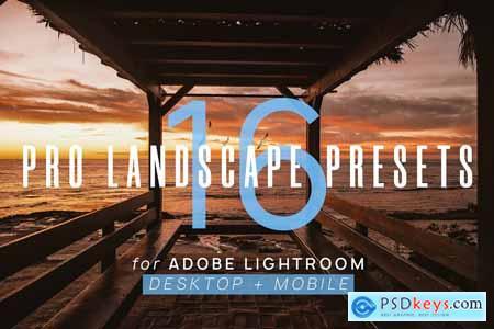 Creativemarket 16 Pro Landscape Lightroom Presets 2