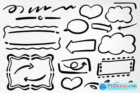 Handwritten » Free Download Photoshop Vector Stock image Via Torrent
