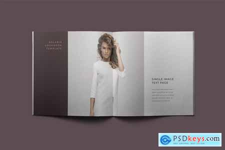 Creativemarket Solaris Lookbook Template