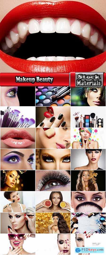 Makeup Beauty mascara brush cosmetics eyelashes eyes lips 25 HQ Jpeg