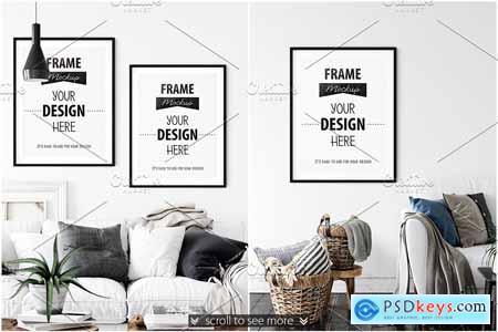 Creativemarket Frames & Walls Scandinavian Bundle-3