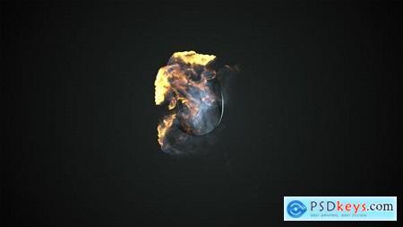 Videohive Elegant Fire Burst Logo Free