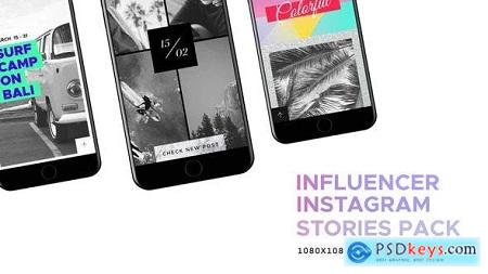 Videohive Influencer Social Media - Instagram Stories Pack Free