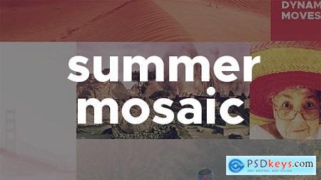 Videohive Summer Mosaic Slideshow Free