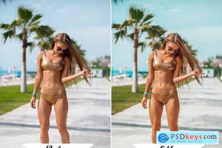 Creativemarket Lightroom Presets MIAMI