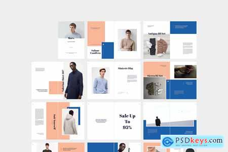 Creativemarket MARS Men Outfit Lookbook