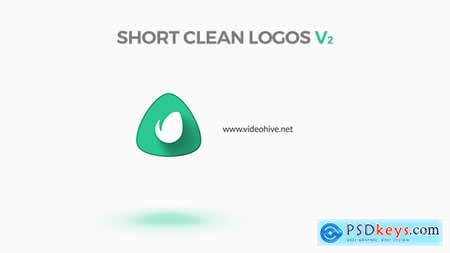 Videohive Short Clean Logos V2 Free