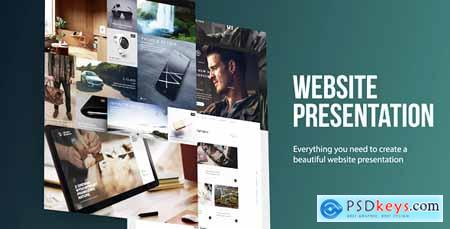 Videohive Website Presentation Free