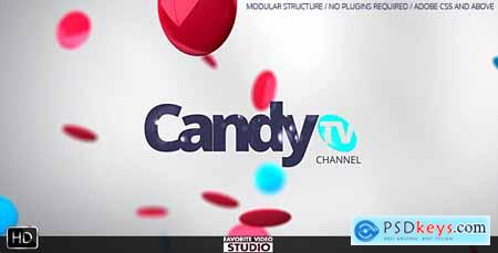 Videohive CandyTV Broadcast ID Free
