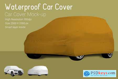 Car Cover Mock-Up