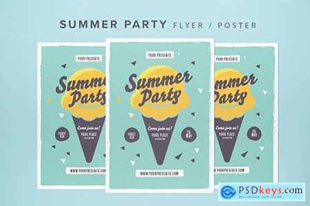 Summer Party Flyer 2