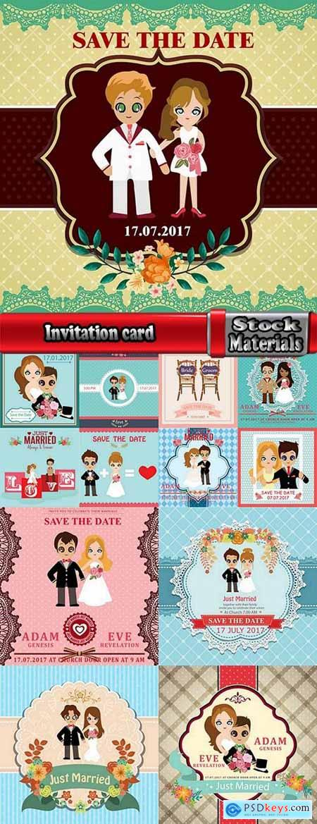 Invitation card card cover postcard flyer banner 13 EPS