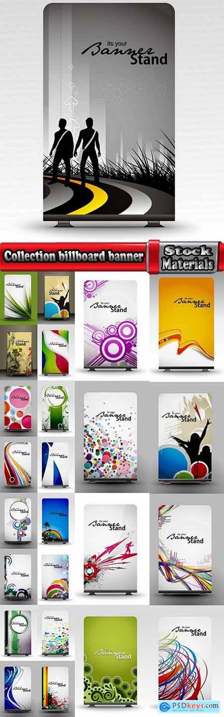 Collection billboard banner flyer signboard poster 25 EPS