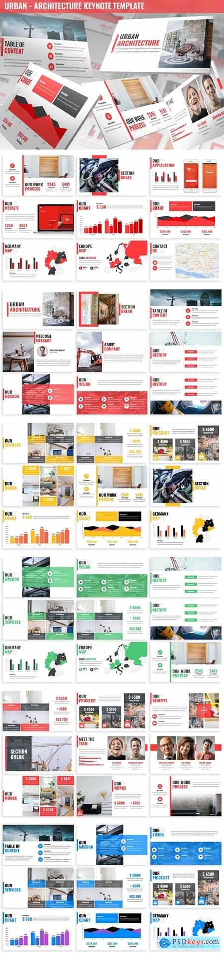 Urban - Architecture Keynote Template