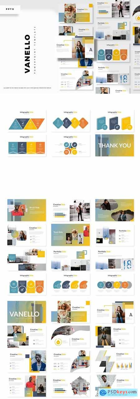 Vanello - Powerpoint, Keynote, Google Slides Templates
