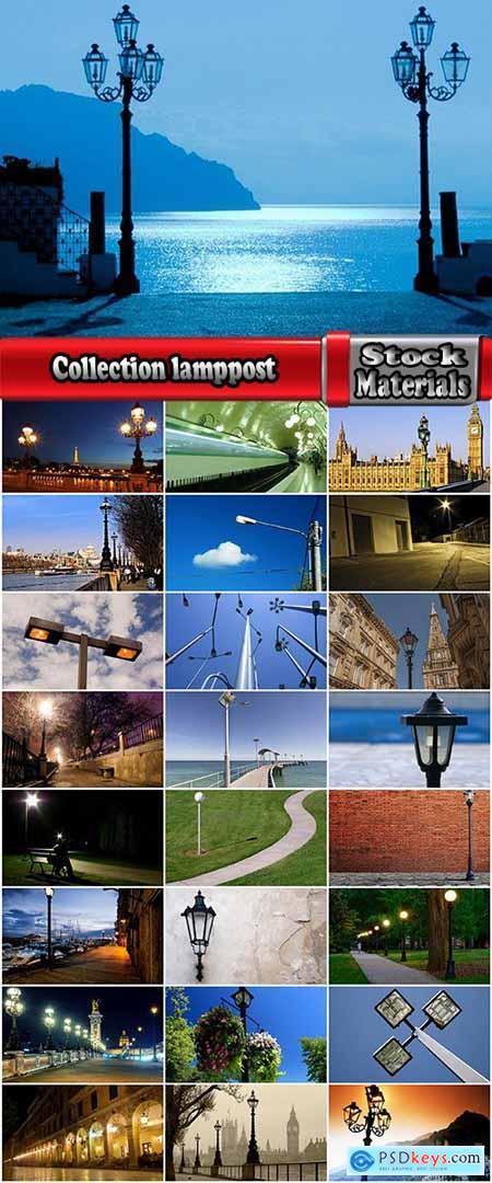 Collection lamppost light lamp lamp street avenue city 25 HQ Jpeg