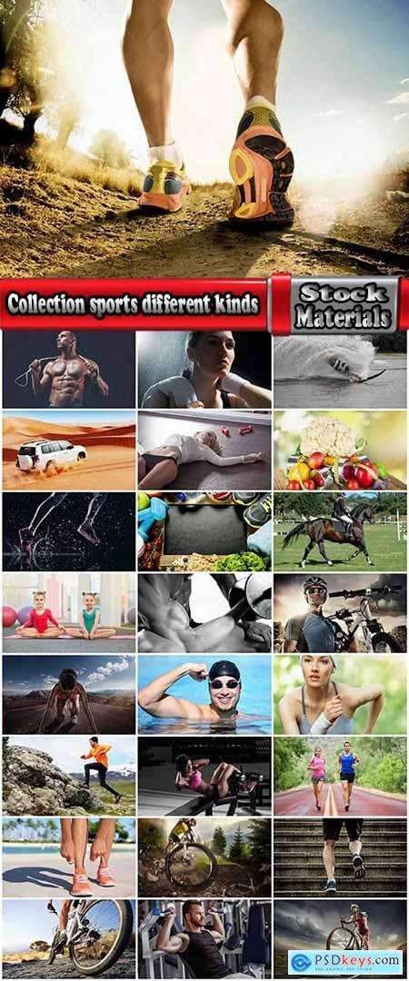 Collection sports different kinds of fitness leisure useful life training gym hall street 25 HQ Jpeg