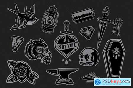 Flash Tattoo Vector Pack
