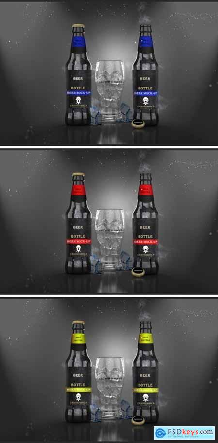 Beer Bottle – PSD Mockup