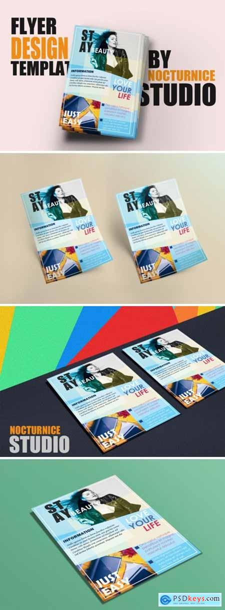 Advertising Flyer Design PSD