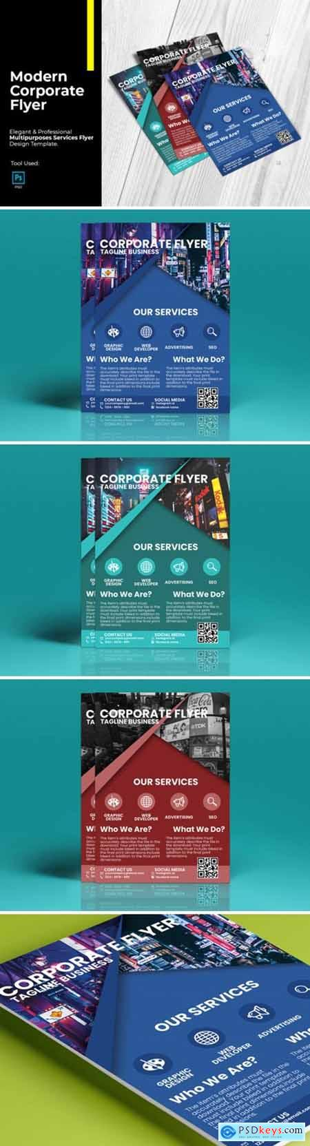 Modern Corporate Flyer Design