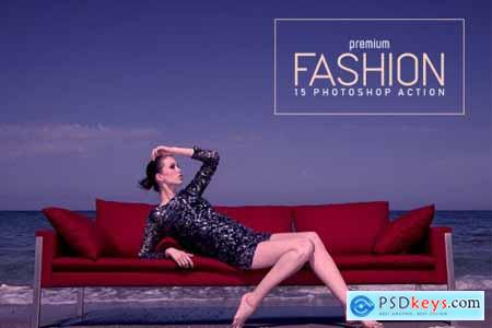 15 Premium Fashion Photoshop Action