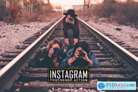Instagram Photoshop Action