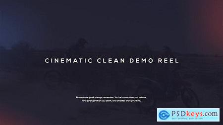 Videohive Cinematic Demo Reel Free